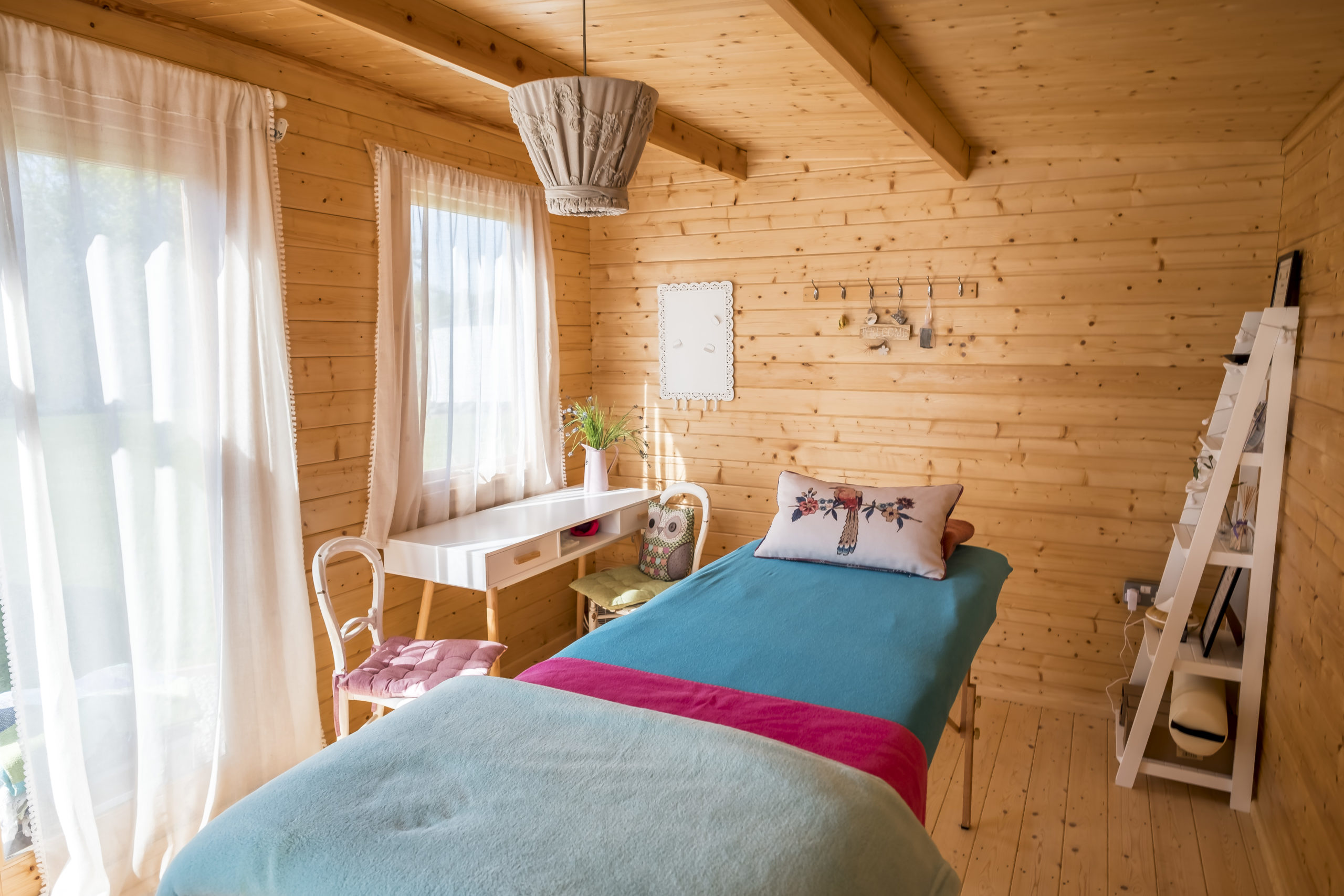 treatment cabin